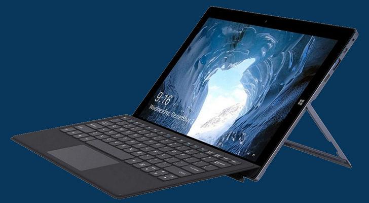 Chuwi Ubook. Windows планшет со съемной док-клавиатурой и откидывающейся подставкой как Microsoft Surface на подходе. Стартовая цена: в пределах $400