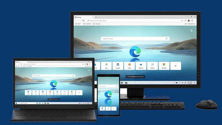 Microsoft Edge. Обновленный браузер на базе Chromium выпущен