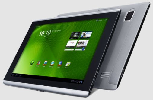 Android 4 Ice Cream Sandwich для Acer Iconia Tab A500