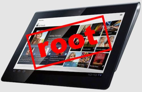 root для Sony Tablet S