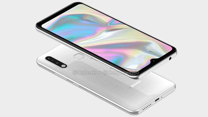 Так будет выглядеть Samsung Galaxy A70e с 6.1-дюймовым дисплеем и тройной камерой