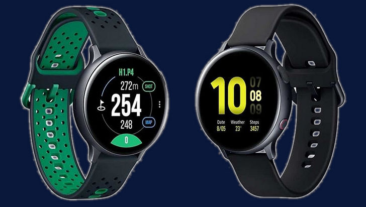 Galaxy Watch Active 2 Golf Edition и Galaxy Watch Active 2  LTE Aluminum – две новых версии умных часов от Samsung