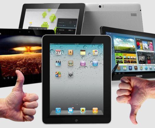 """Пятерка Android планшетов способных """"подвинуть"""" новый iPad"""
