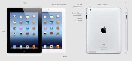 Планшет Apple iPad 3