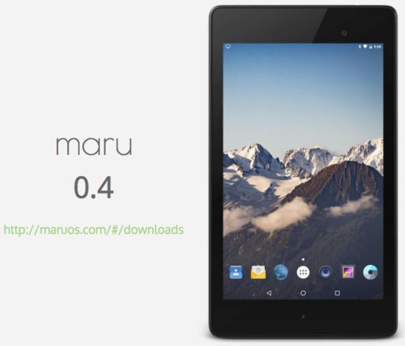 Кастомные Android прошивки. Maru OS позволяющая ...