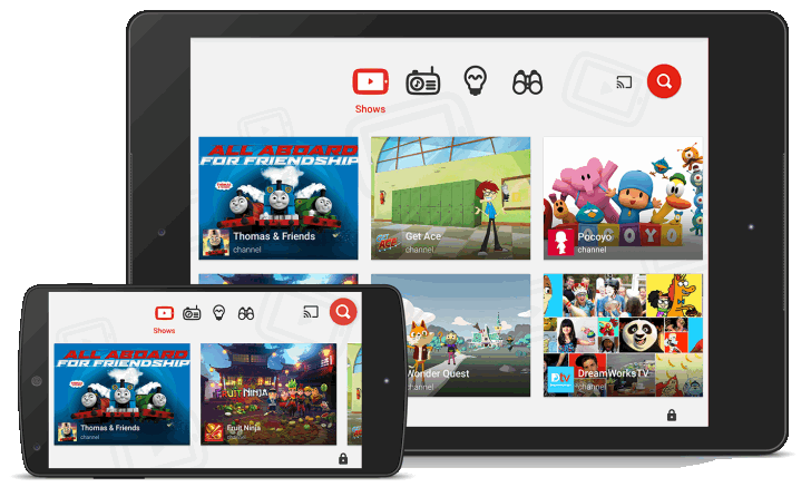 YouTube Kids. Версия приложения с контентом, одобренным Google может появиться в ближайшее время