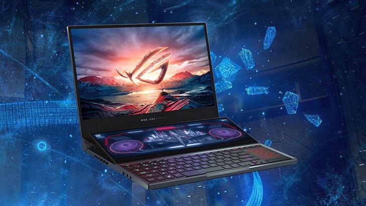 ASUS ROG Zephyrus Duo 15. Игровой ноутбук на базе процессора Intel Core 10-го поколения