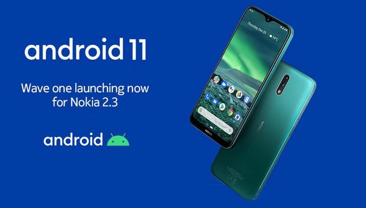Обновление Android 11 для Nokia 8.1 и Nokia 2.3 выпущено
