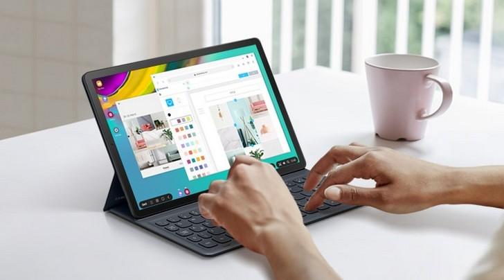 Обновление One UI 3.1 на базе Android 11 для Galaxy Tab S5e выпущено и уже поступает на планшеты