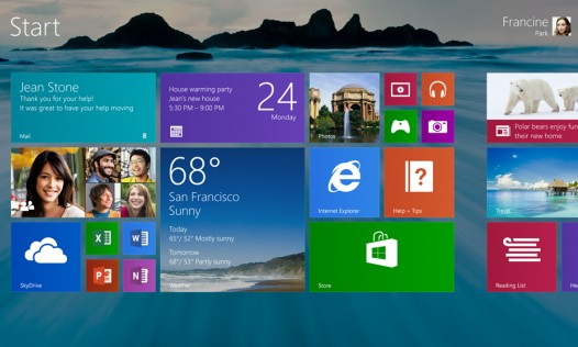 Windows 8.1 Preview  выпущена и будет доступна для загрузки с сайта Microsof