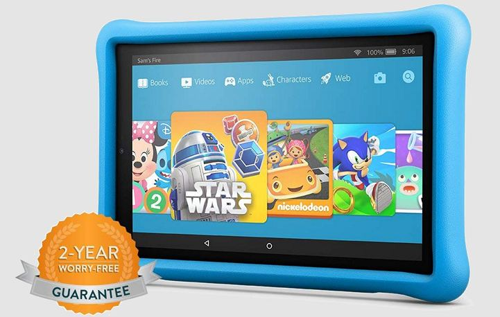Amazon Fire HD 10 Kids Edition.