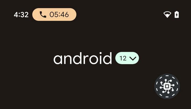 Android 12. В строек состояния этой операционной системы появится индикатор телефонного вызова