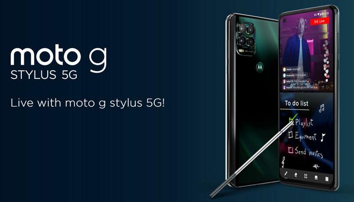 Motorola Moto G Stylus 5G официально представлен. Еще один 5G смартфон средней ценовой категории со стилусом в комплекте