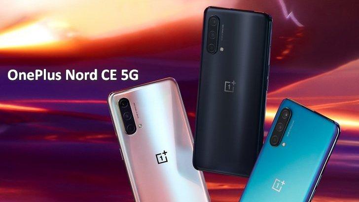 OnePlus Nord CE 5G в утечке спецификаци