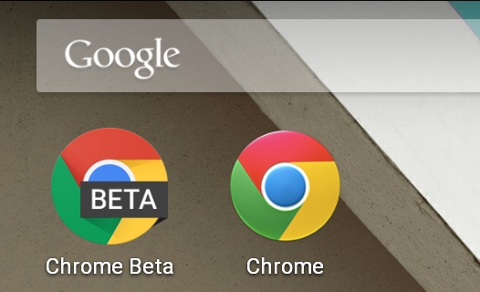 Программы для Android. Веб-браузер Chrome Beta