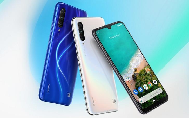 Xiaomi Mi A3 официально. Android One смартфон с процессором Snapdragon 665, подэкранным сканером отпечатков пальцев и тройной 48-Мп камерой за 250 евро