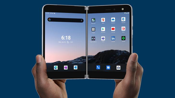 Surface Duo. Первый телефон с двумя экранами и первое Android  устройство Microsoft уже доступно для предзаказа