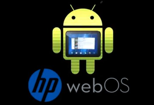 Прошивка Android для HP TouchPad