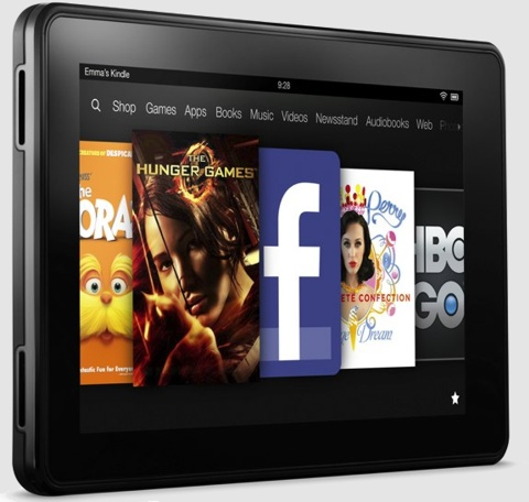 Планшет Amazon Kindle Fire 2012