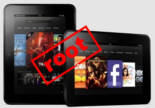 Root для Amazon Kindle Fire HD