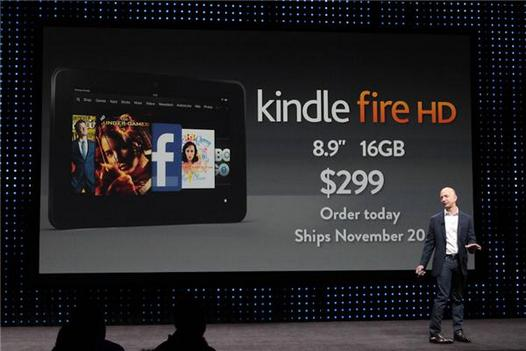планшеты Kindle Fire HD