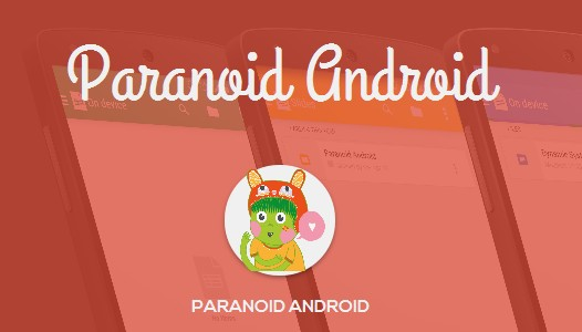 Кастомные Android прошивки. Paranoid Android 4.6 Beta 1 выпущена