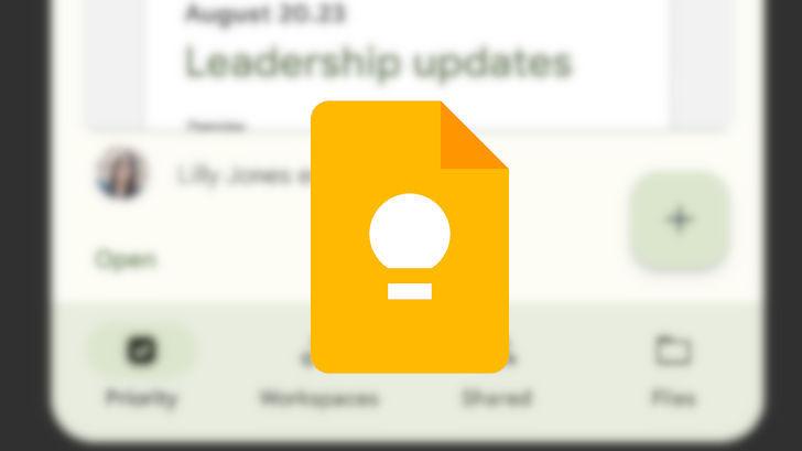 Google Keep. Приложение для работы с заметками получит дизайн в стиле Android 12. Как он будет выглядеть