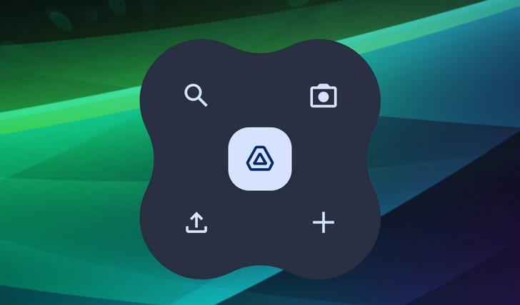 Google Диск. Приложение получило новый виджет в стиле Android 12 и выглядит он достаточно странно