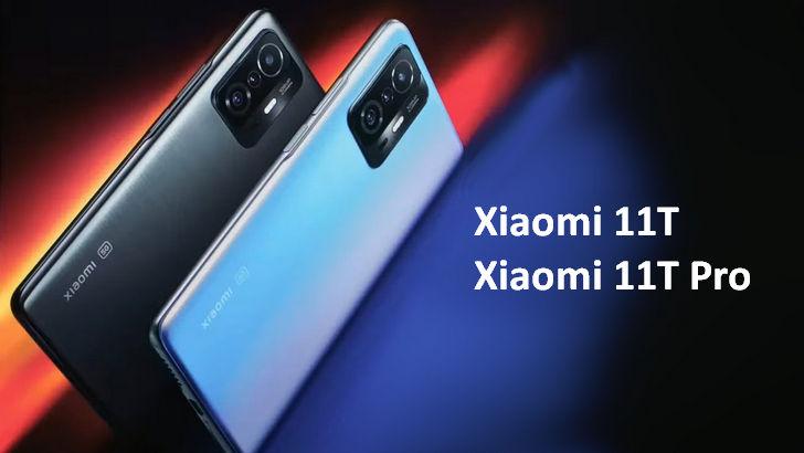 Xiaomi 11T и Xiaomi 11T Pro. Два смартфона флагманского типа с процессорами Dimensity 1200 и Snapdragon 888 за €549/€649 и выше