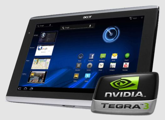 Android планшеты Acer Iconia Tab A510 и A511