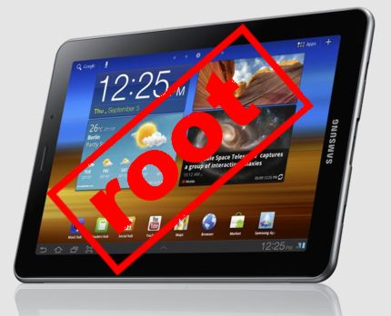 Samsung Galaxy Tab 7.0 Plus. Root и прошивка ClockworkMod Recovery