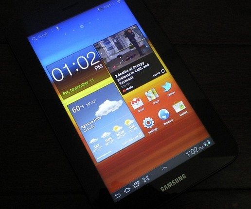 Обзор Samsung Galaxy Tab 7.0 Plus