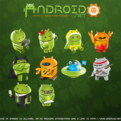 Android avatars 1