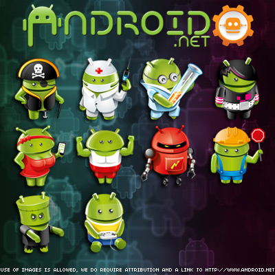 Android avatars2
