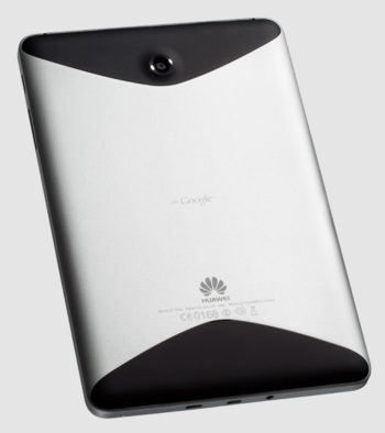 Huawei Mediapad Android 3.2 tablet rear